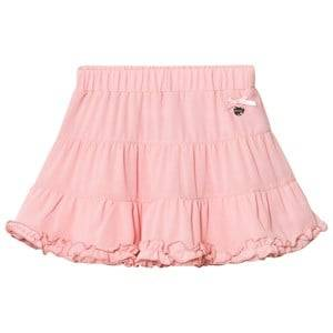 Le Chic Girls Skirts Pink Pink Tiered Ruffle Skirt