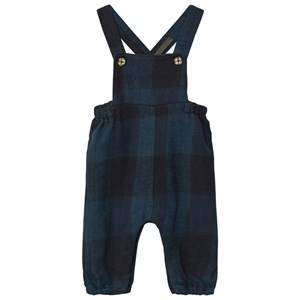 Mini A Ture Boys All in ones Blue Laurent Overall Mood Indigo