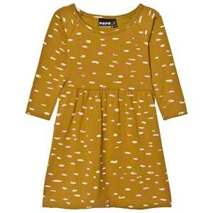 Papu Girls Dresses Yellow Tickle Gather Dress
