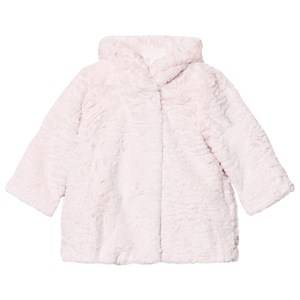 Billieblush Girls Coats and jackets Pink Pale Pink Faux Fur Coat
