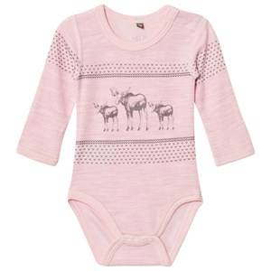 Hust&Claire; Girls All in ones Pink Baby Body Rose Melange