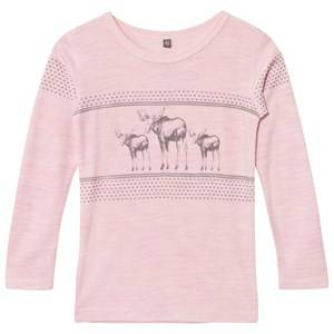Hust&Claire; Girls Tops Pink Tee Rose Melange