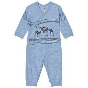 Hust&Claire; Boys All in ones Blue One-Piece Dawn Melange