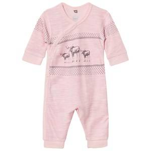 Hust&Claire; Girls All in ones Pink One-Piece Rose Melange