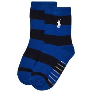Ralph Lauren Boys Underwear Blue Stripe Socks Navy/Blue