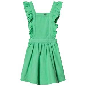 Margherita Kids Girls Dresses Green Green Cord Pinnafore Dress