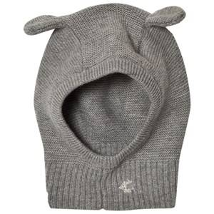 Petit Bateau Unisex Headwear Grey Knitted Balaclava Grey