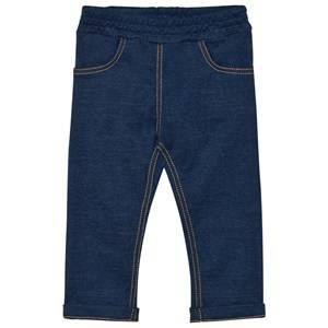 Petit Bateau Unisex Bottoms Blue Stretch Jeggings Blue