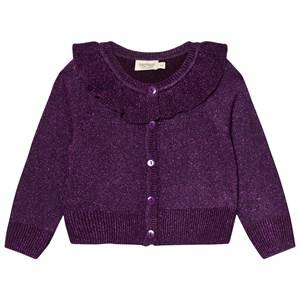 MarMar Copenhagen Unisex Jumpers and knitwear Purple Tilda Cardigan Purple Night
