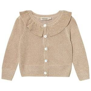 MarMar Copenhagen Unisex Jumpers and knitwear Gold Tilda Cardigan Gold