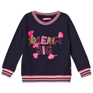 Le Big Girls Jumpers and knitwear Navy Dream Big Sweater Navy