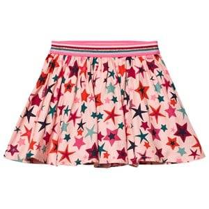 Le Big Girls Skirts Pink Gabriella Star Skirt Pink