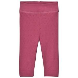 Noa Noa Miniature Girls Bottoms Red Doria Leggings Red Violet
