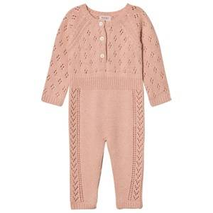 Noa Noa Miniature Girls All in ones Cream Knit One-Piece Evening Sand