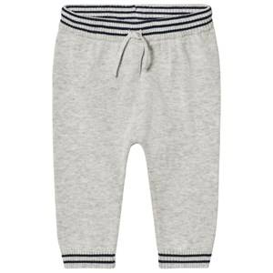 Noa Noa Miniature Boys Bottoms Grey Pants Light Grey Melange