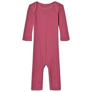 Noa Noa Miniature Girls All in ones Red Doria One-Piece Red Violet