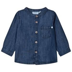 Noa Noa Miniature Boys Tops Blue Denim Top Dark Wash