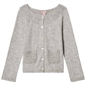Noa Noa Miniature Girls Jumpers and knitwear Grey Lamsa Cardigan Grey