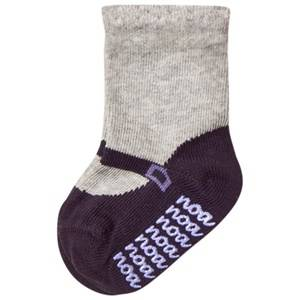 Noa Noa Miniature Girls Underwear Grey Shirley Ankle Socks Light Grey