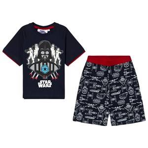 Fabric Flavours Boys Nightwear Navy Navy Star Wars Dark Side Pyjamas
