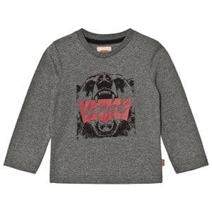 Levis Kids Boys Tops Grey Grey Bear Logo Tee