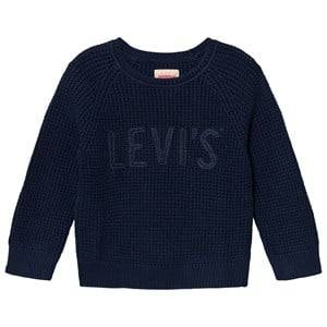 Levis Kids Boys Jumpers and knitwear Navy Navy Branded Knit Sweater