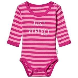 Nova Star Girls All in ones Pink Striped Body