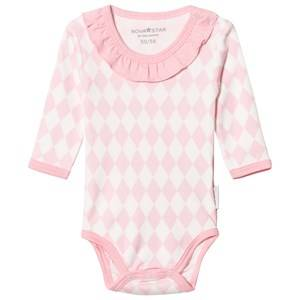 Nova Star Girls All in ones Pink Square Baby Body