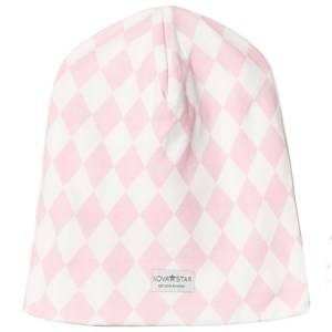 Nova Star Girls Headwear Pink Pink Square Beanie