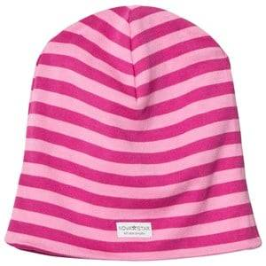 Nova Star Girls Headwear Pink NB Pink Striped Beanie