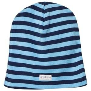 Nova Star Boys Headwear NB Blue Striped Beanie