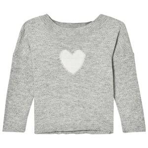 Noa Noa Miniature Girls Tops Grey Lamsa Sweater Grey