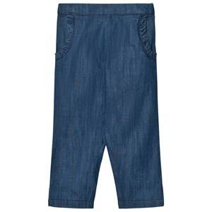 Noa Noa Miniature Girls Bottoms Blue Soft Denim Trousers