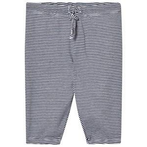 Noa Noa Miniature Boys Bottoms Blue Stripe Pants White/Navy