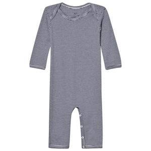 Noa Noa Miniature Boys All in ones Blue Stripe One-Piece Navy