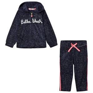 Billieblush Girls Clothing sets Navy Navy Glitter Logo Tracksuit