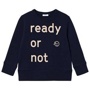 Wynken Unisex Jumpers and knitwear Navy Ready or Not Sweatshirt Navy