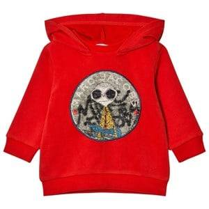 Little Marc Jacobs Boys Jumpers and knitwear Red Red Mr Marc Hoodie