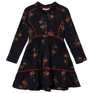 Pepe Jeans Girls Dresses Black Black Floral Print Dress