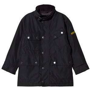 Barbour Boys Coats and jackets Black Black International Tyne Waterproof Padded Jacket