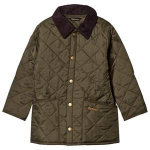 Barbour Boys Coats and jackets Green Olive Quilted Liddesdale Jacket