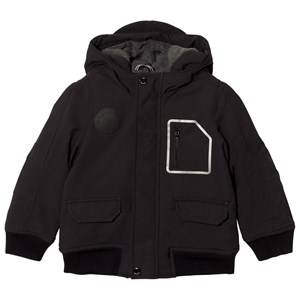Boss Boys Coats and jackets Black Black Fleece Lined Hooded Parka