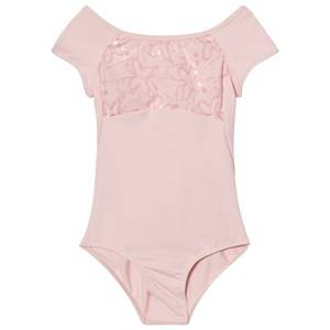Mirella Girls All in ones Pink Pink Sequin Butterfly Leotard
