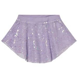 Mirella Girls Skirts Purple Lilac Sequin Butterfly Tulle Skirt