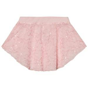 Mirella Girls Skirts Pink Pink Sequin Butterfly Tulle Skirt