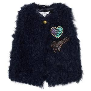 Little Marc Jacobs Girls Coats and jackets Navy Navy Faux Fur Gilet