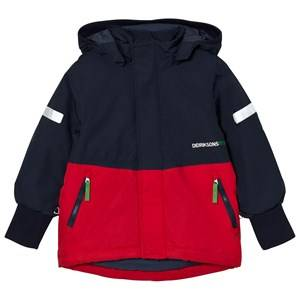 Didriksons Unisex Coats and jackets Red Härje Kid´s Jacket Red