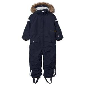 Didriksons Unisex Coveralls Blue Björnen Kid´s Coverall Navy