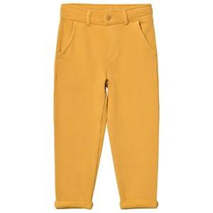 Emile et Ida Boys Bottoms Yellow Sweatpants Ocre