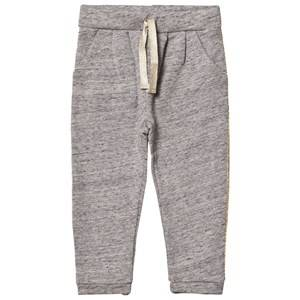 Emile et Ida Girls Bottoms Grey Glitter Sweatpants Gris Chine